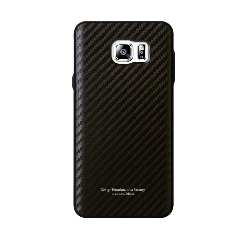 Tridea Carbon Anti Shock Black Casing for Galaxy Note 5