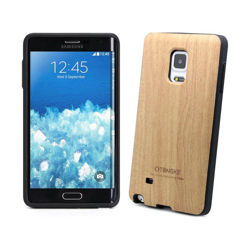 Tridea Italian Wood Pattern Beige Casing for Galaxy Note Edge