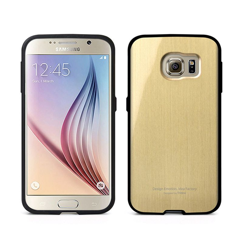 TRIDEA Metallic Gold Casing for Galaxy S6