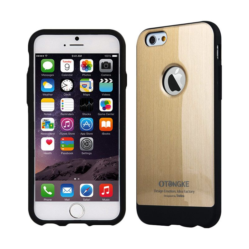 TRIDEA Metallic Gold Casing for iPhone 6