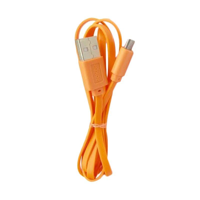 Roker 2.1A Orange USB Data Cable