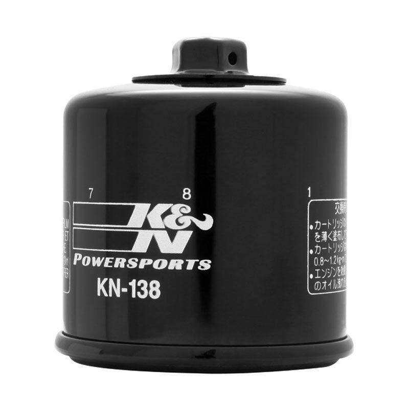 K&N Oil Filter Suzuki/Aprilia/Kymco KN-138