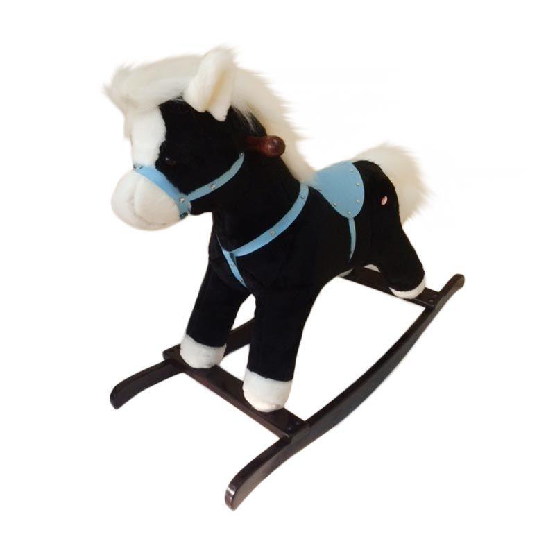 Jilsi Toys Kuda Premium Hitam Mainan Anak