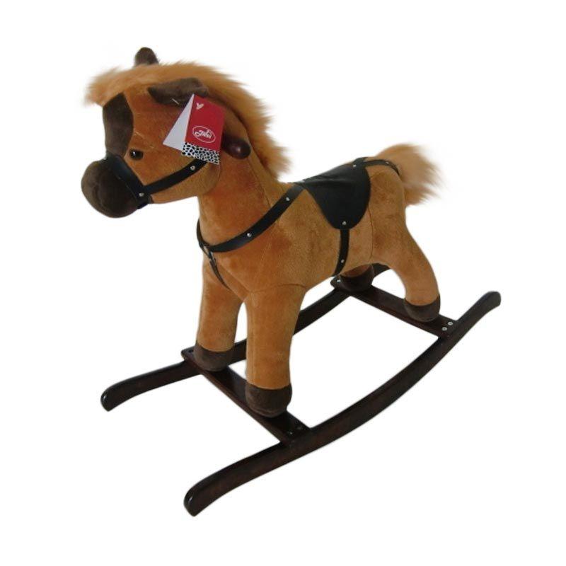 harga Jilsi Toys Kuda Regular Coklat Mainan Anak Blibli.com