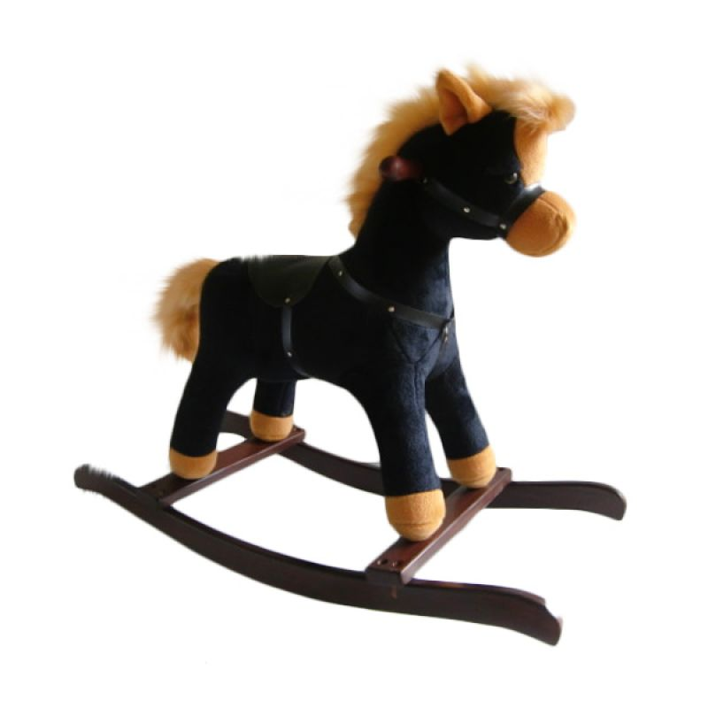 Jilsi Toys Kuda Regular Hitam Mainan Anak