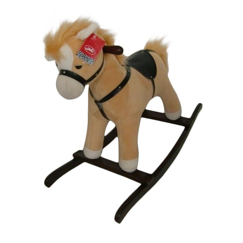Jilsi Toys Kuda Regular Krem Mainan Anak