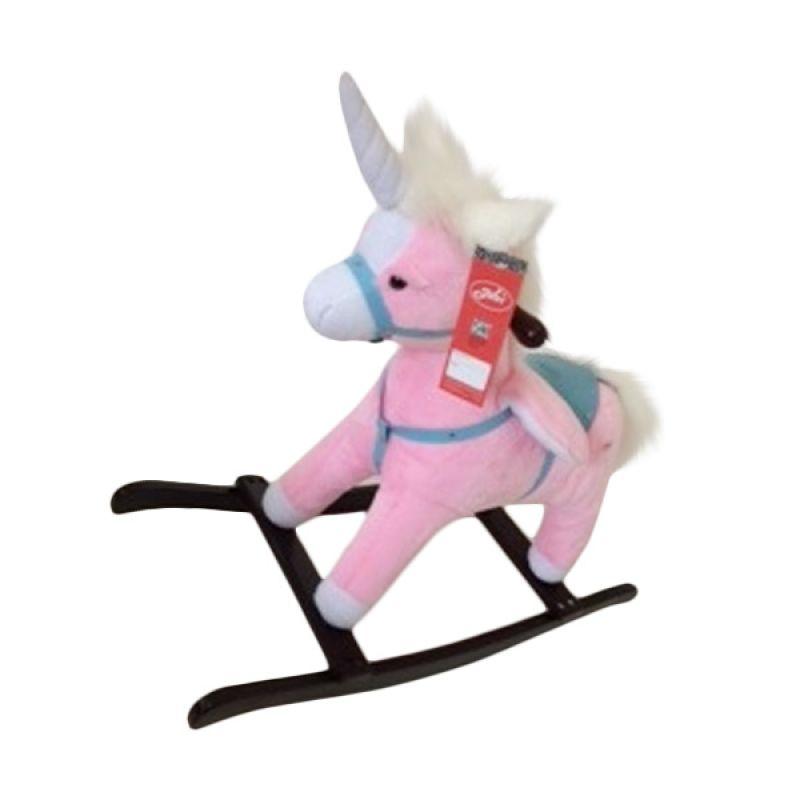 Jilsi Toys Kuda Terbang Pink Mainan Anak