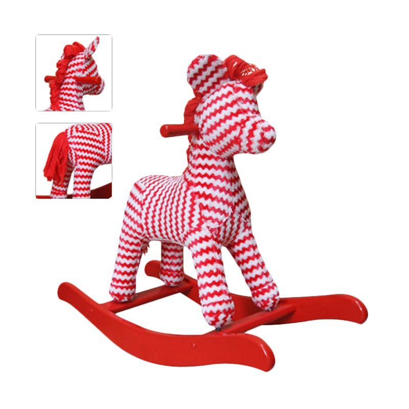 Jilsi Toys Monokayu Red Ziggy Mainan Anak