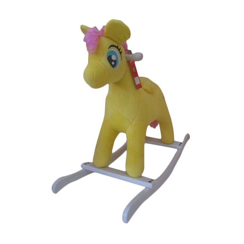 Jilsi Toys Pony Kuning Mainan Anak