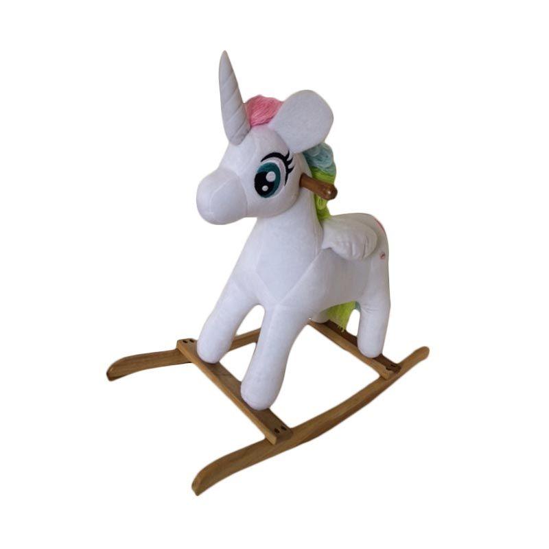 Jilsi Toys Pony Putih Mainan Anak