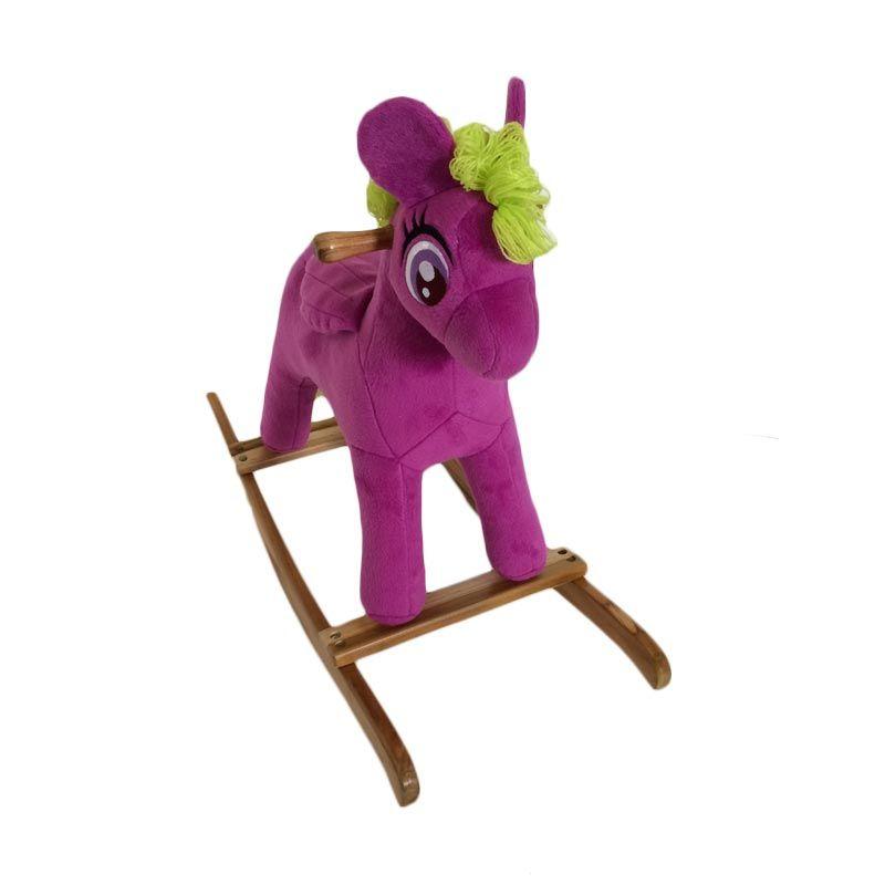 Jilsi Toys Pony Ungu Mainan Anak