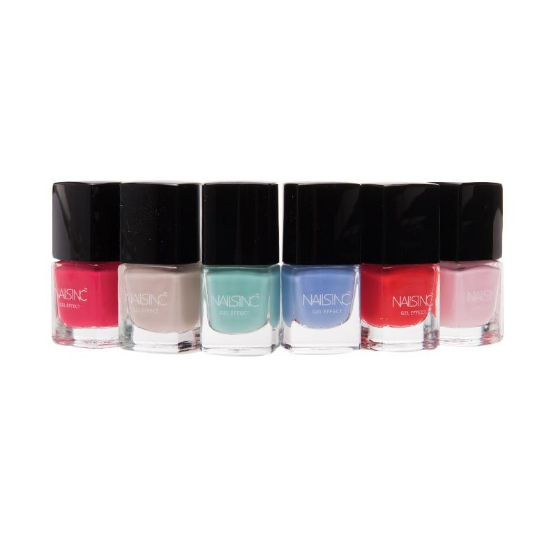Nails Inc. Spring Summer Mini Gel Effect Collection Kutek