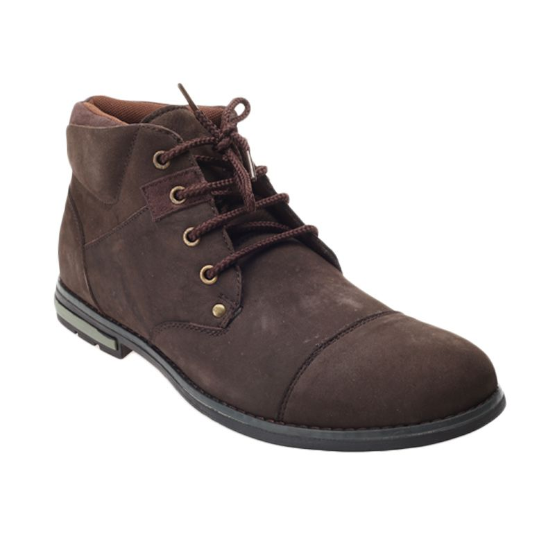 Jim Joker Berry 02B Coffee Casual Boot