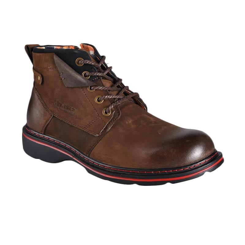 harga Jim Joker Casual Boot Peach 1B Sepatu Pria - Coffee Blibli.com