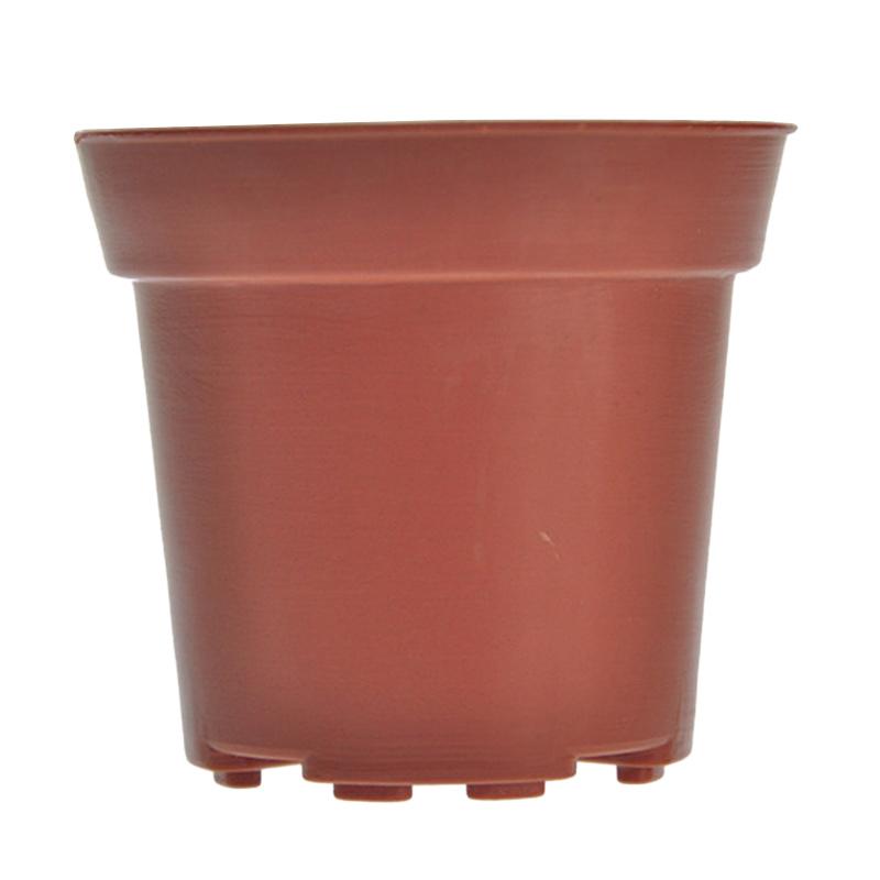 Jual Jirifarm Hidroponik 09021 10 Cokelat Set Pot Plastik 180027 [Diameter 10 cm x Tinggi