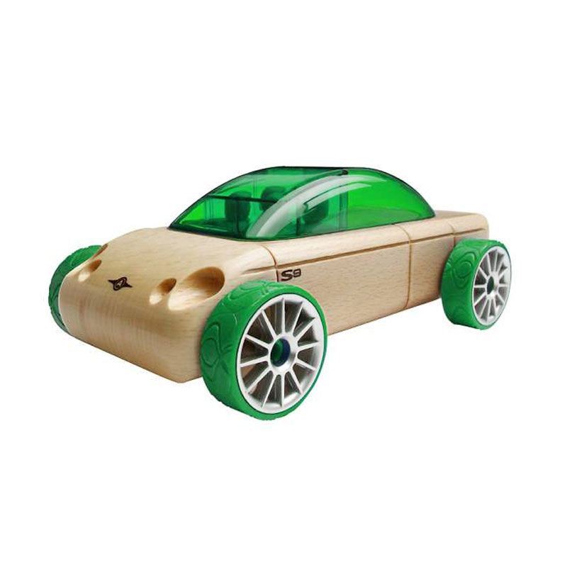 'Lego' Automoblox S9 Sedan Green