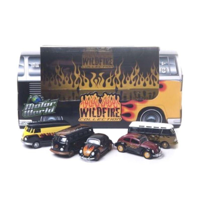 Greenlight Motorworld Diorama Wildfire Diecast [1:64]