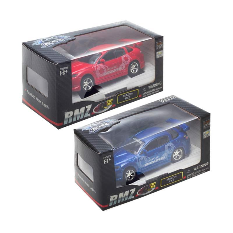 Promo Paket RMZ Diecast Mazda RX8