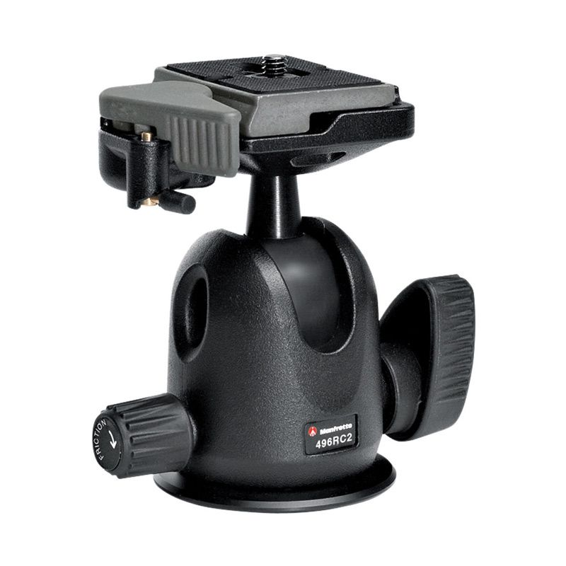 Manfrotto Compact 496 RC 2 With Quick Release Black Ballhead
