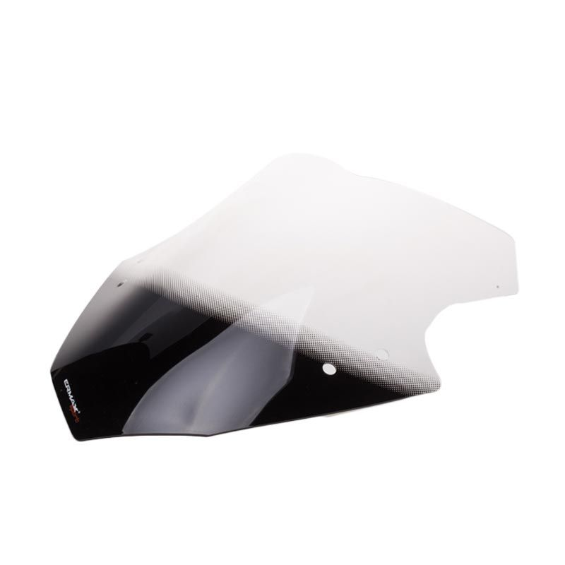 Ermax Clair Black Windshield for Kawasaki Ninja 250 FI