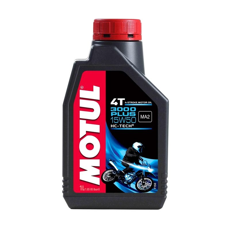Motul 3000 Plus 15W-50 Oli Motor [800 mL]