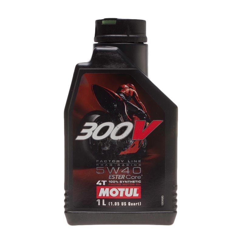 Motul 300V Factory Line Road Racing 5W-40 Oli Pelumas [1 L]