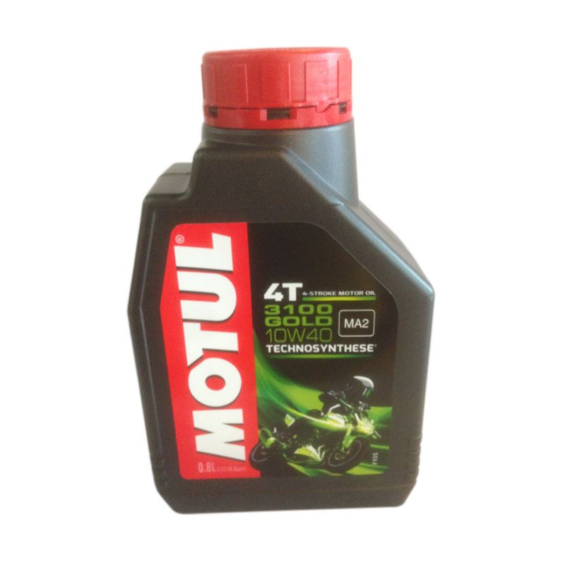 Motul 3100 Gold 10W-40 Oli Motor [800 mL]