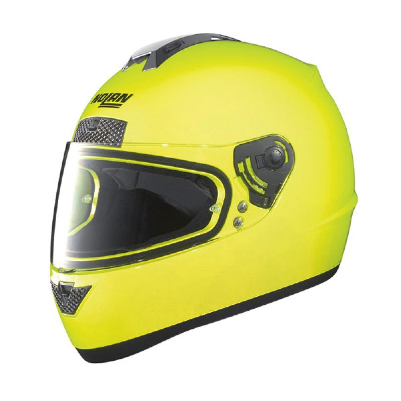 Nolan N63 Fluo Yellow Helm Full Face