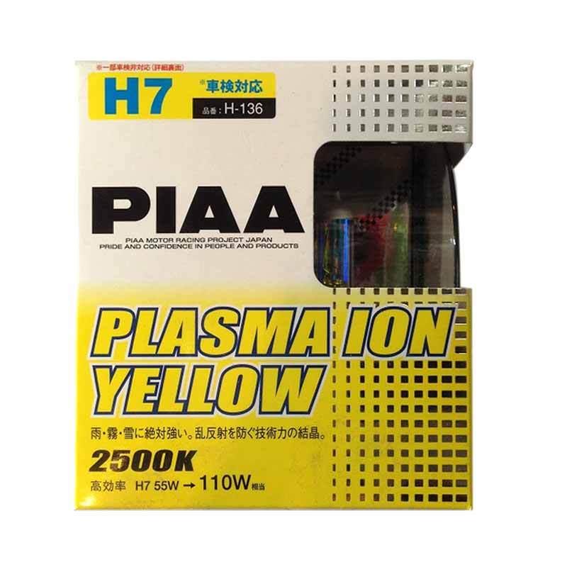 PIAA Lampu H7 55W 3000K Plasma Ion Yellow