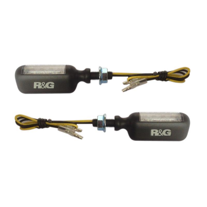R&G Aero Style Lampu Sein LED Aksesoris Motor