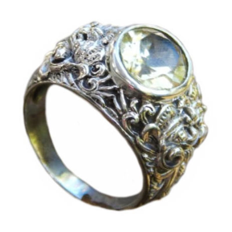 Jnanacrafts Barong Silver Cincin Pria