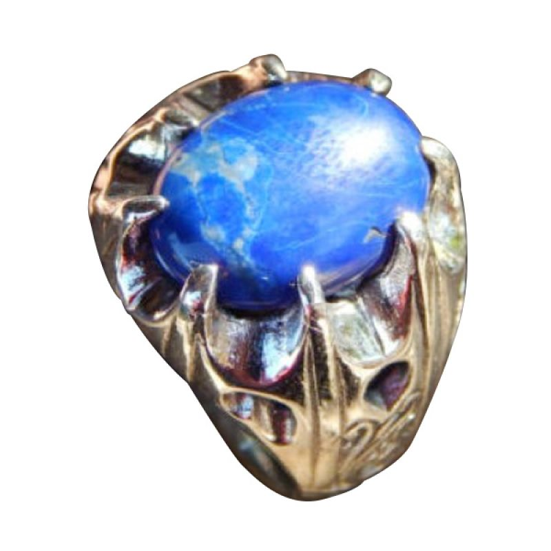 harga Jnanacrafts Cakar Batu Lapis lazulli Silver Cincin Blibli.com