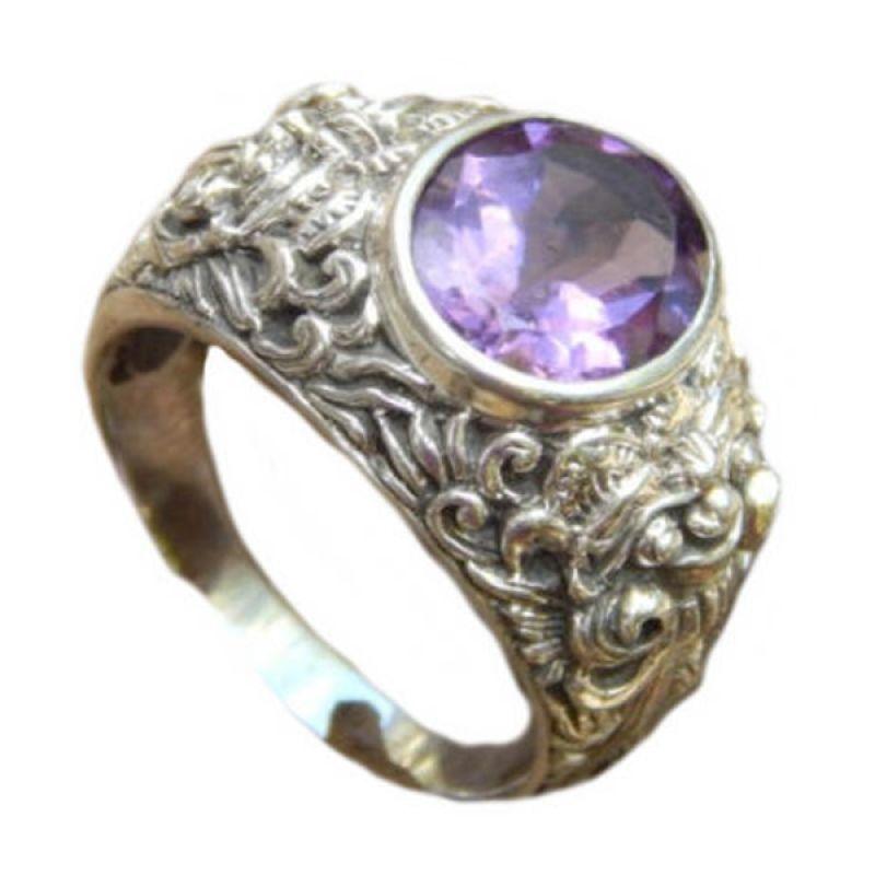 Jnanacrafts Motif Barong 99636 Cincin Perak