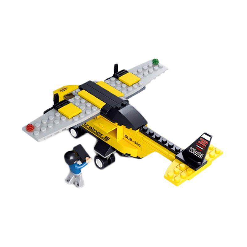 Sluban Aviation T Trainer M38-B0360 Mainan Anak [110 Pcs of Brick]