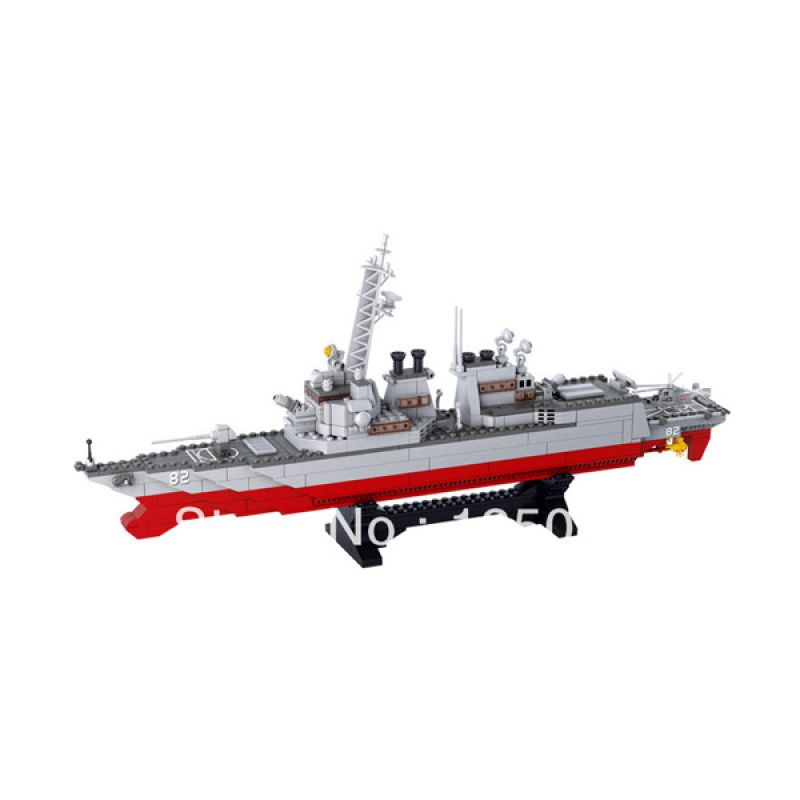 Sluban Destroyer M38-B0390 Mainan Anak [615 Pcs of Brick]