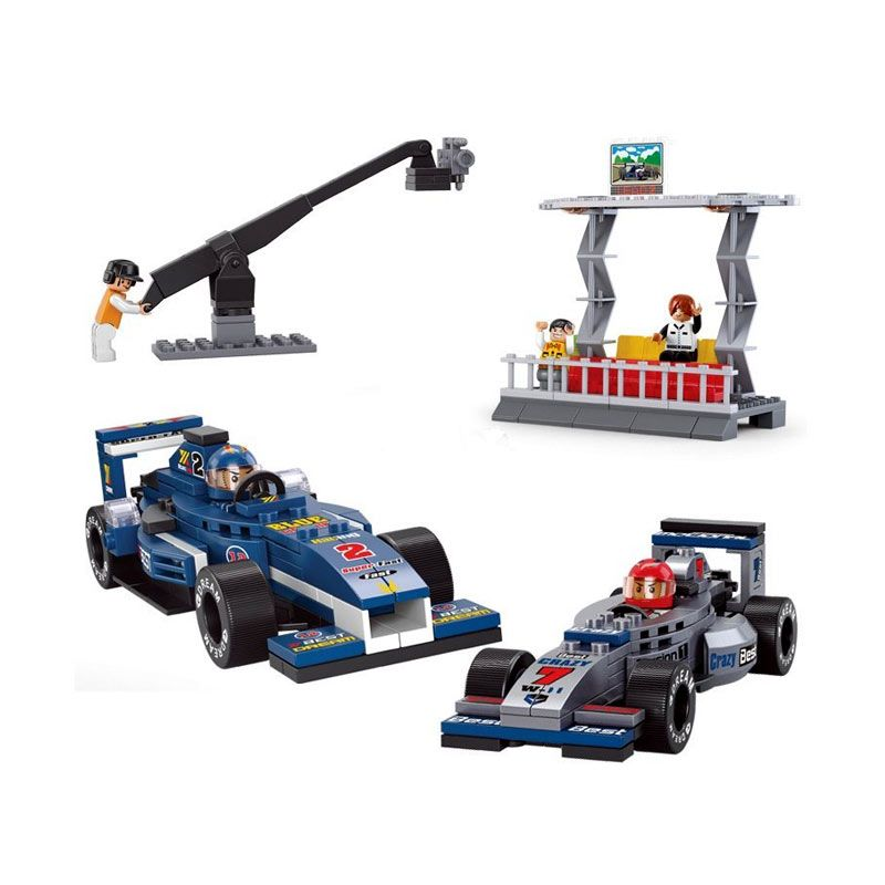 Sluban F1 Racing Department M38-B0355 Mainan Anak [300 Pcs of Brick]