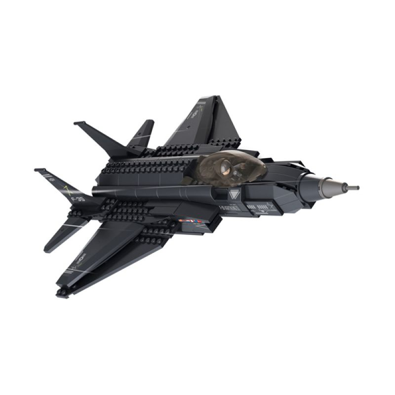 Sluban F35 Lightning Fighter M38-B0510 Mainan Anak [252 Pcs of Brick]