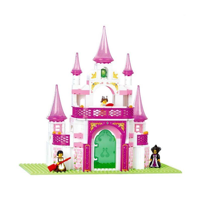 Sluban Girl's Dream Fantasy Palace M38-B0153 Mainan Anak [271 Pcs of Brick]