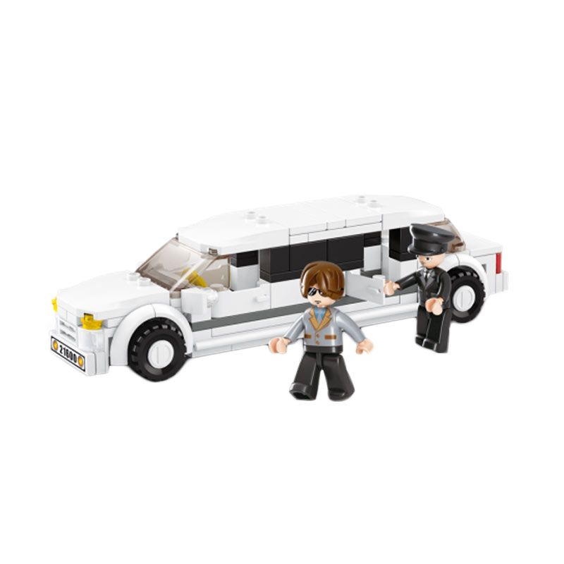 Sluban Limousine M38-B0323 Mainan Anak [135 Pcs of Brick]