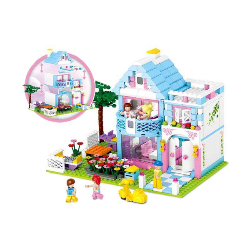 Sluban New Girl's Garden Villa M38-B0535 Mainan Anak [539 Pcs of Brick]