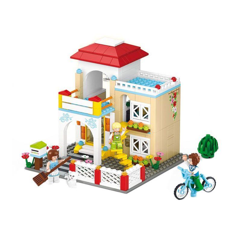 Sluban New Girl's Sweet Home M38-B0533 Mainan Anak [381 Pcs of Brick]