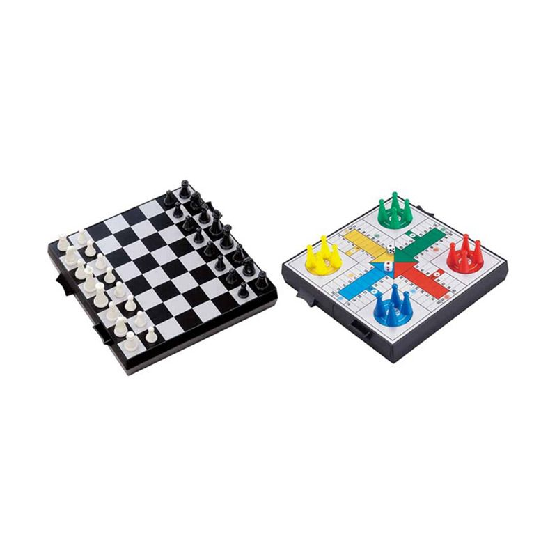 UB 2 IN 1 Magnetic Chess And Ludo 2732C Mainan Anak