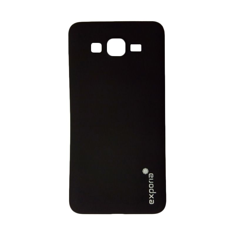 Exporia Silicon Hitam Casing for Samsung Galaxy Grand Prime