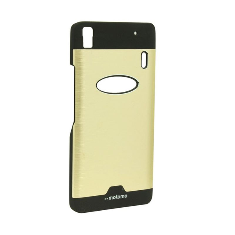 Motomo Ino Metal Gold Casing for Lenovo A7000