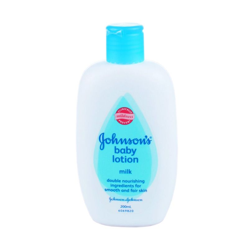 Johnson's Baby Lotion Milk + Rice [200ml]