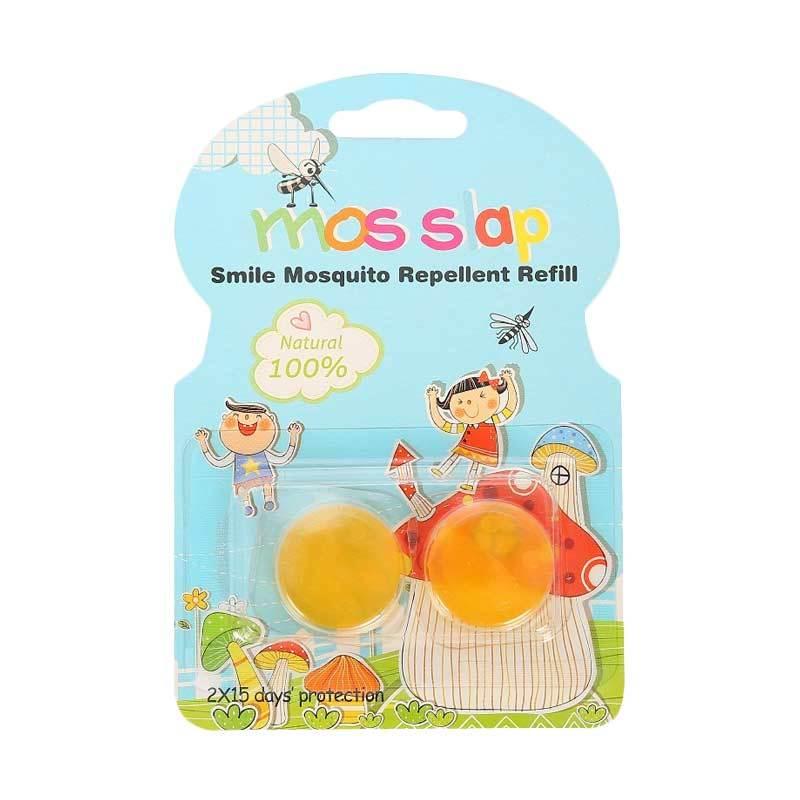 Mosquito Repellent Bracelet Smiley - Refill