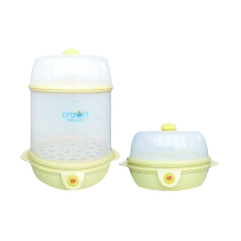 Crown Multi Function Travel Steamer CR1188 Putih Sterilizer Botol Susu