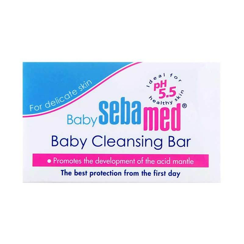 Sebamed Baby Cleansing Bar Pembersih Bayi [100 mL]