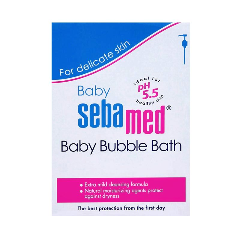 Sebamed Baby Buble Bath Sabun Bayi [200 mL]