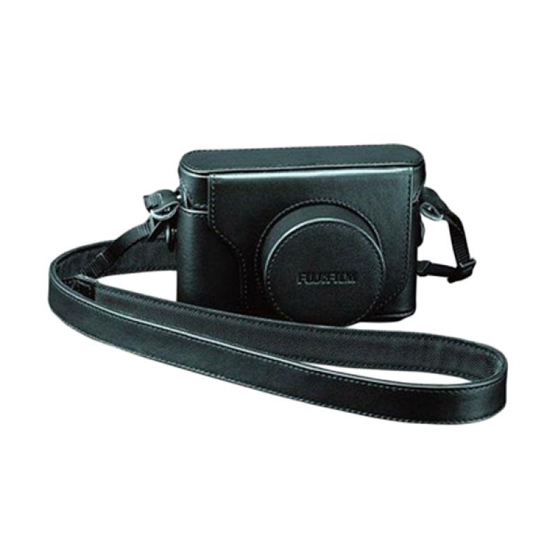 Fujifilm LC-X20 Original Leather Hitam Tas Kamera for Fujifilm X20 or X10